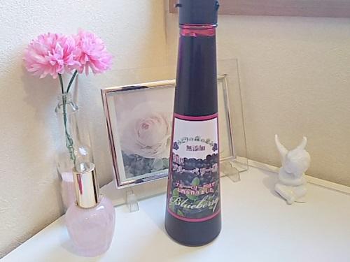 【贅沢ブルーベリー酢】天然のビルベリーとハチミツだけで作った酸っぱくないお酢♪